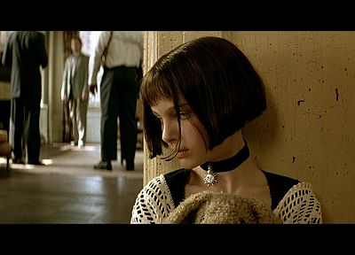 actress, Natalie Portman, Leon The Professional, screenshots - related desktop wallpaper