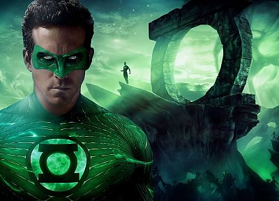 Green Lantern, abstract, movies, Ryan Reynolds - desktop wallpaper