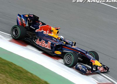 red, cars, Formula One, bull, vehicles, Red Bull, Sebastian Vettel - related desktop wallpaper