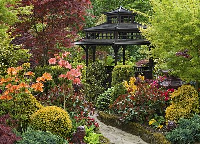 England, garden, zen - related desktop wallpaper