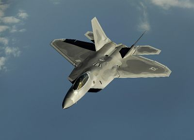 aircraft, military, F-22 Raptor, planes - desktop wallpaper