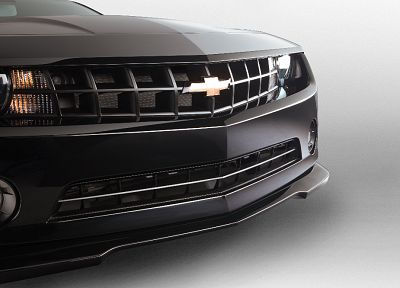 black, cars, Chevrolet, vehicles, Chevrolet Camaro, headlights - related desktop wallpaper