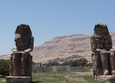Egypt, statues - random desktop wallpaper