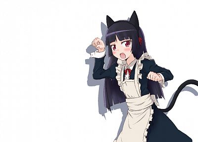 maids, nekomimi, animal ears, Gokou Ruri, Ore No Imouto Ga Konna Ni Kawaii Wake Ga Nai - related desktop wallpaper