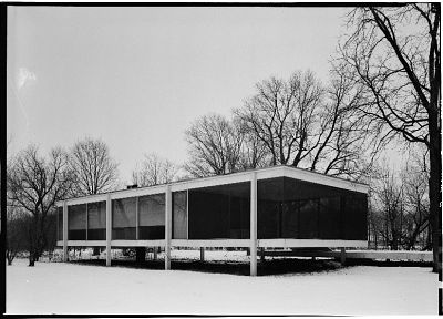 architecture, houses, Farnsworth House, Mies Van Der Rohe - related desktop wallpaper