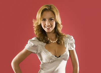 blondes, women, Jessica Alba, actress - desktop wallpaper