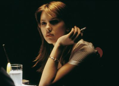 Scarlett Johansson, actress, Lost in Translation, girls smoking - random desktop wallpaper