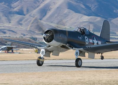 aircraft, military, planes, Vought F4U Corsair - related desktop wallpaper