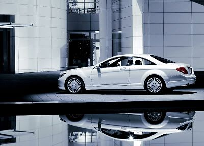 cars, Mercedes Benz SCL 600, Mercedes-Benz - random desktop wallpaper