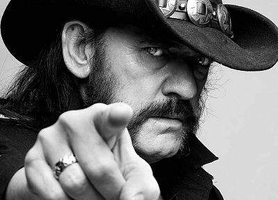 music, Motorhead, music bands, Lemmy Killmister, cowboy hats - random desktop wallpaper