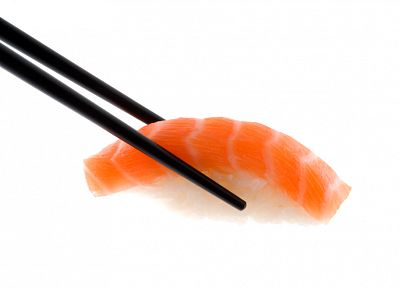 sushi, simple background - random desktop wallpaper