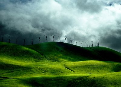 green, nature, grass, fields, hills, India, skyscapes, kerela - related desktop wallpaper