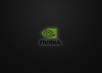 Nvidia, logos - random desktop wallpaper