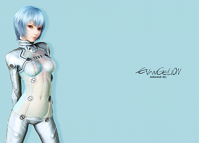 Ayanami Rei, Neon Genesis Evangelion - related desktop wallpaper