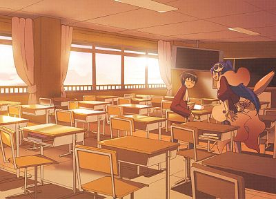 classroom, The World God Only Knows - desktop wallpaper