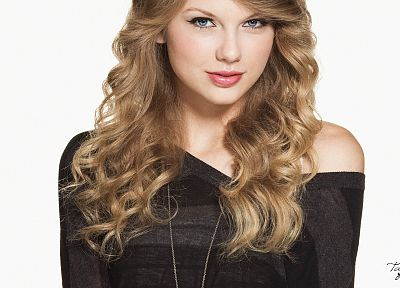 blondes, women, music, Taylor Swift, models, celebrity, singers, white background - related desktop wallpaper