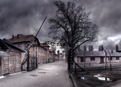 Nazi, German, concentration camp - random desktop wallpaper