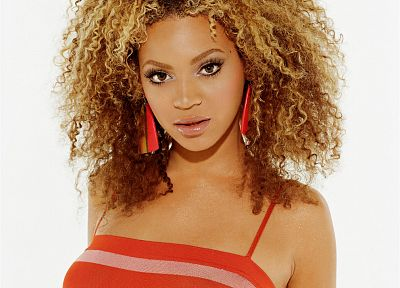 women, black people, Beyonce Knowles, singers, curly hair - random desktop wallpaper