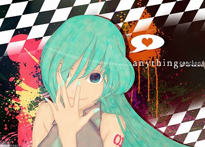 Vocaloid, Hatsune Miku - desktop wallpaper