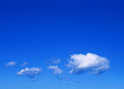 clouds, skyscapes, blue skies - desktop wallpaper