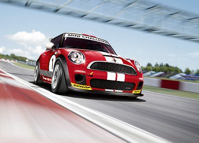 cars, mini cooper, race - desktop wallpaper