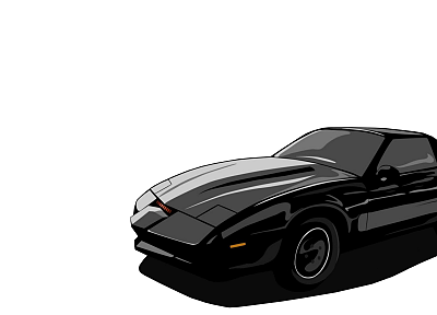 Pontiac Firebird Trans Am, Pontiac Firebird, Knight Rider - random desktop wallpaper