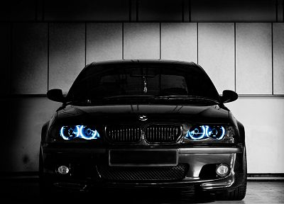 BMW, cars, vehicles, BMW E46, black cars - related desktop wallpaper