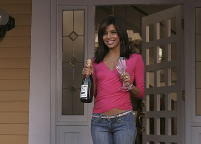 brunettes, TV, women, Eva Longoria, Desperate Housewives, Gabrielle Solis - related desktop wallpaper