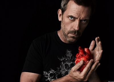doctor, Hugh Laurie, hearts, Gregory House, House M.D. - random desktop wallpaper
