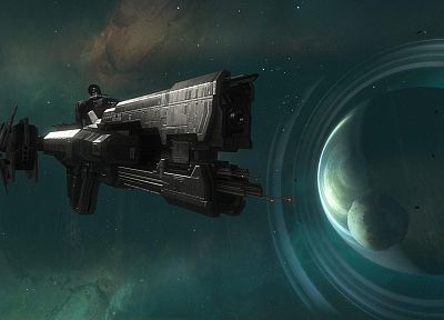 outer space, planets, Halo Reach, spaceships, vehicles - related desktop wallpaper