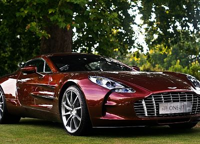 cars, Aston Martin One-77 - random desktop wallpaper