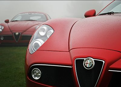 cars, Alfa Romeo, vehicles - random desktop wallpaper