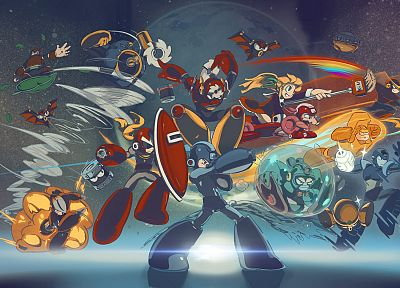 Mega Man - random desktop wallpaper