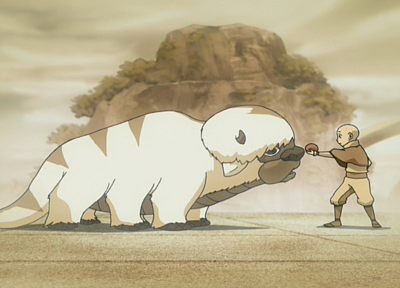 Avatar: The Last Airbender, Aang, Appa - random desktop wallpaper