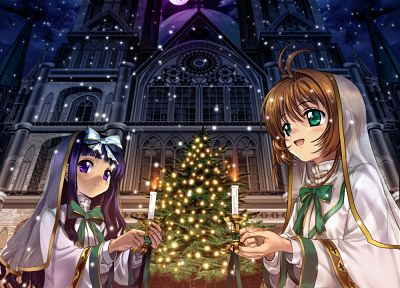 Christmas, Cardcaptor Sakura - related desktop wallpaper
