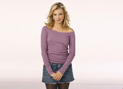 blondes, women, actress, Amy Smart - random desktop wallpaper
