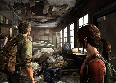 video games, screenshots, survival horror, The Last of Us - desktop wallpaper