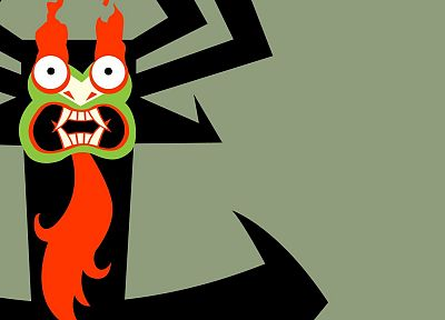 Samurai Jack, Aku - desktop wallpaper