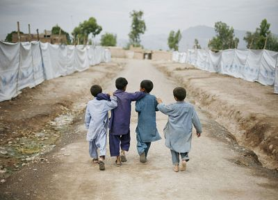 Afghanistan, children - random desktop wallpaper