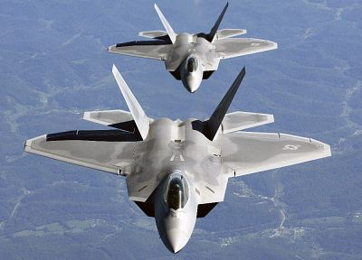 aircraft, military, F-22 Raptor, vehicles - related desktop wallpaper
