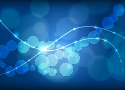 light, abstract, circles, bokeh, lines - related desktop wallpaper