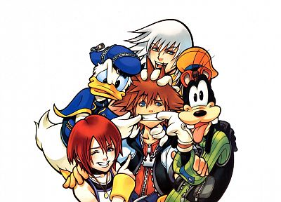 Kingdom Hearts - random desktop wallpaper