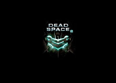 video games, Dead Space 2, black background - desktop wallpaper