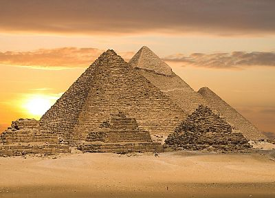 architecture, Egypt, pyramids, culture, Great Pyramid of Giza - random desktop wallpaper