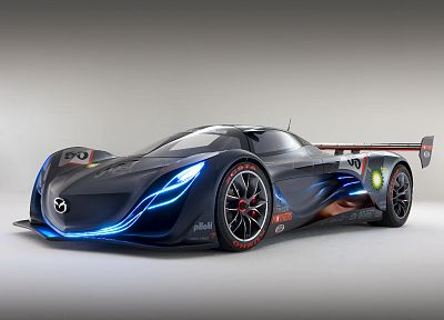 cars, Mazda, concept art, vehicles, Mazda Furai - random desktop wallpaper