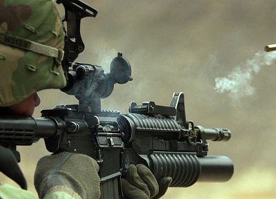 rifles, soldiers, guns, army, military - related desktop wallpaper