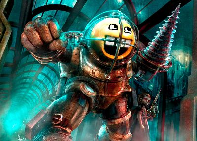 BioShock, Awesome Face - random desktop wallpaper