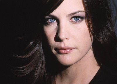 brunettes, women, actress, Liv Tyler, faces - desktop wallpaper
