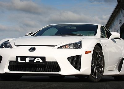 Japan, cars, Lexus, vehicles, Lexus LFA, white cars, JDM Japanese domestic market - related desktop wallpaper