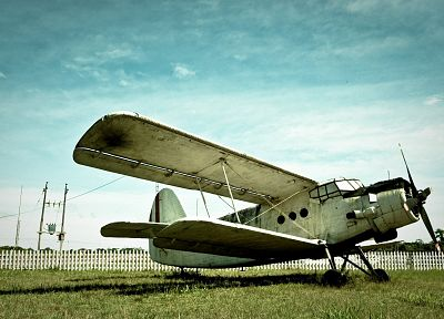aircraft, rusted, Ukrainian, Antonov, An-2 - related desktop wallpaper
